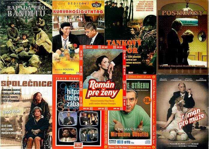 Kolekce Miroslav Donutil - 8 DVD + 1CD