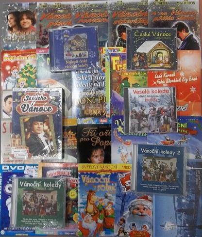 Velká Vánoční kolekce - 19 DVD + 7 CD