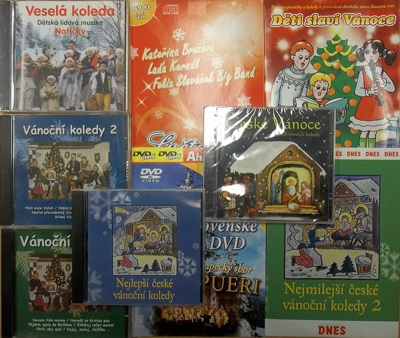 Kolece Vánočních koledy - 8CD + 1DVD