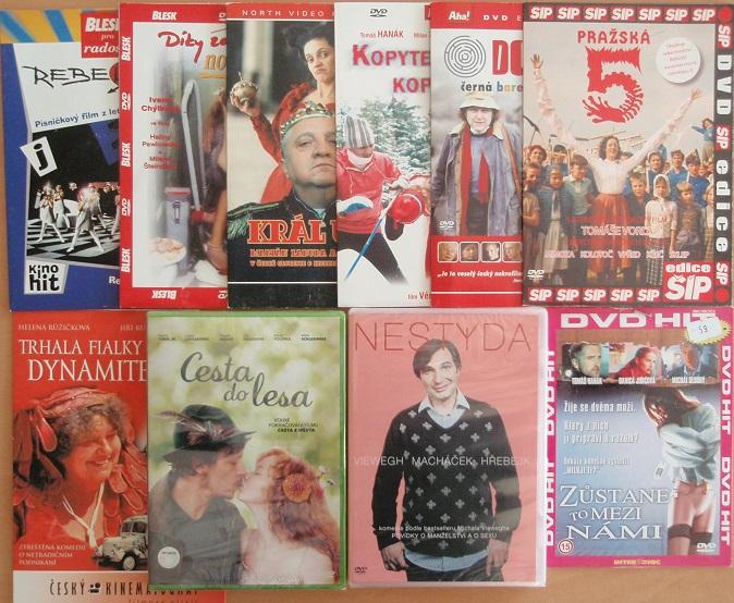 Kolekce Tomáš Hanák - 10 DVD