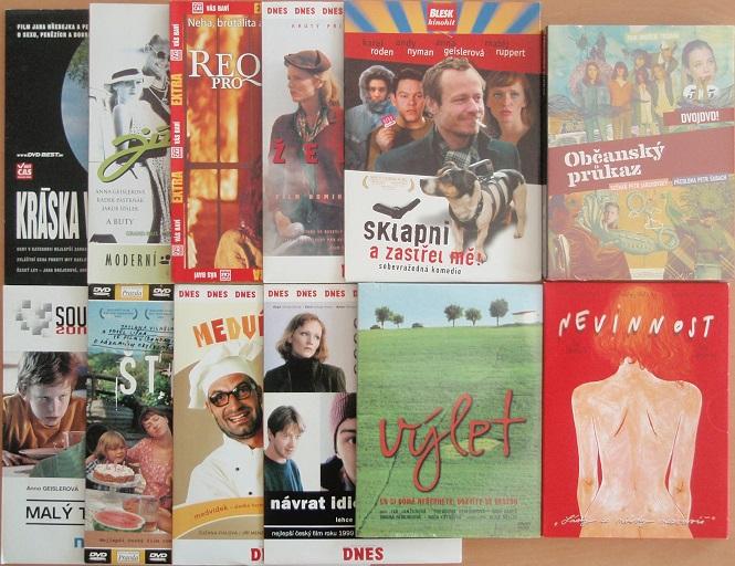 Kolekce Aňa Geislerová - 12 DVD