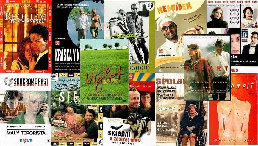 Kolekce Aňa Geislerová - 12x DVD