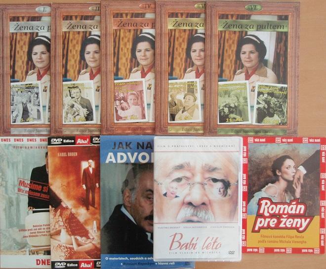 Kolekce Simona Stašová - 10 DVD