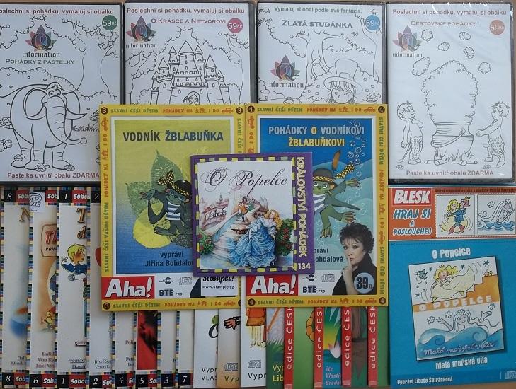 Velká kolekce mluvených pohádek - 28 CD