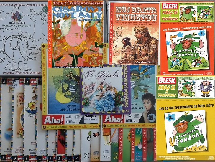 Velká kolekce mluvených pohádek - 29 CD