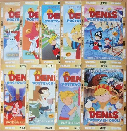 Kolekce Denis postrach okolí - 9 DVD