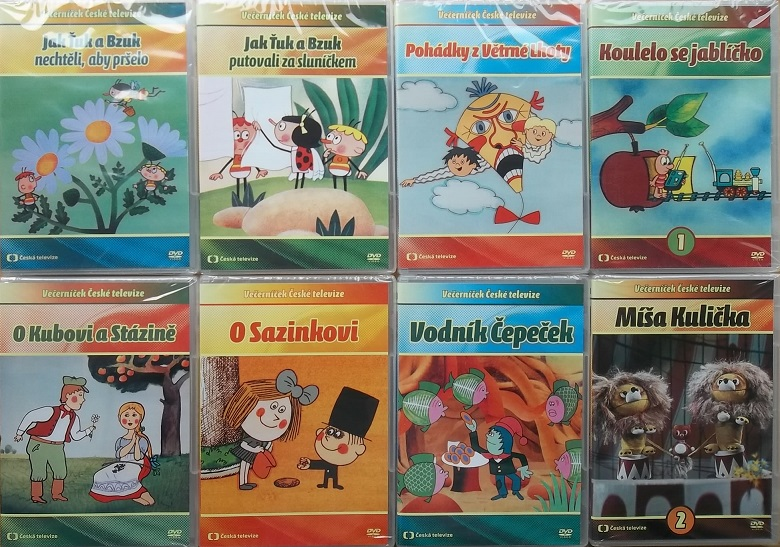 Kolekce večerníčky České televize - 9 DVD