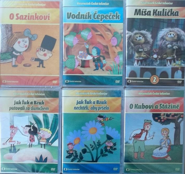 Kolekce večerníčky České televize - 6 DVD