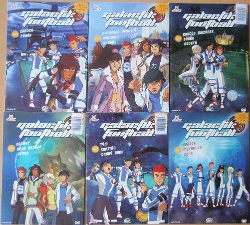 Kolekce Galactik football - 6 DVD