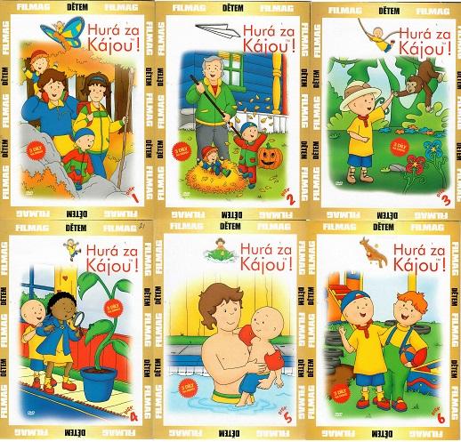 Kolekce Hurá za Kájou ! - 6 DVD ( nekompletní )
