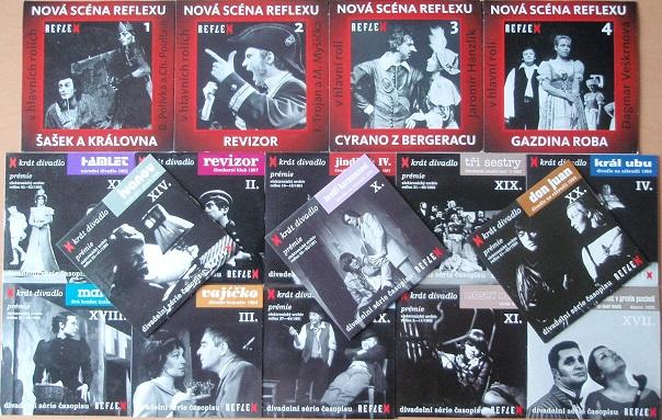 Kolekce divadelní hry - 18 DVD