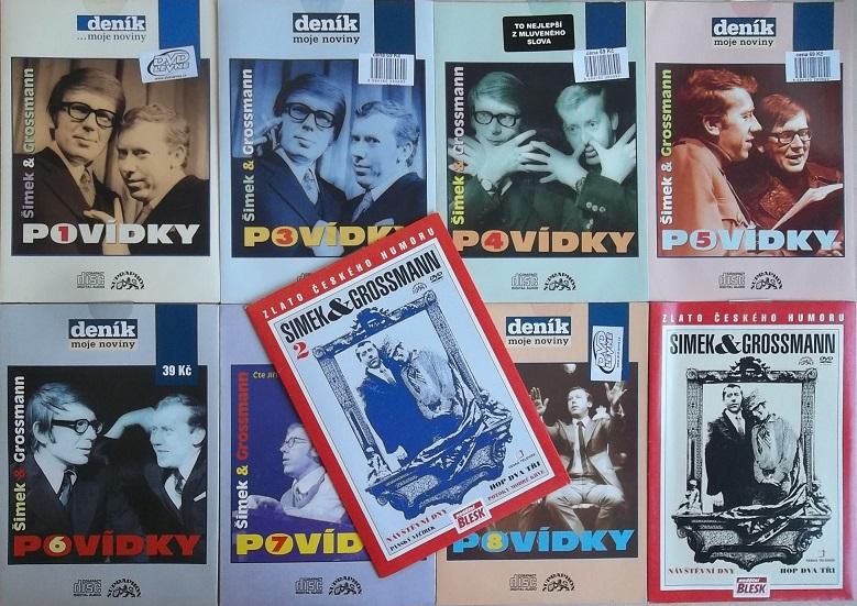 Kolekce Šimek a Grossmann - 8CD + 2DVD