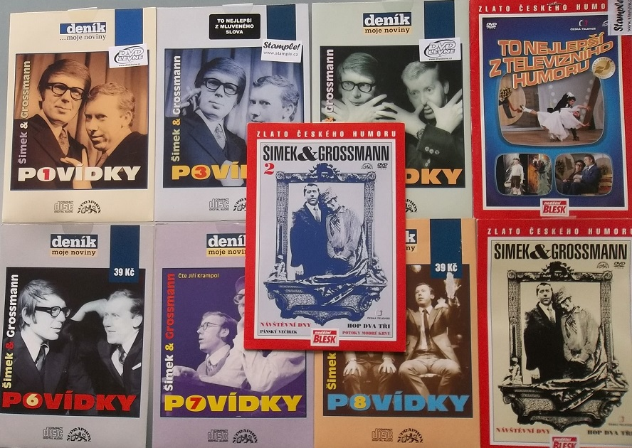 Kolekce Šimek a Grossmann - 6CD + 3DVD