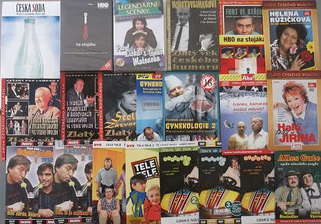 Kolekce zábavy - 19 DVD + 5 CD