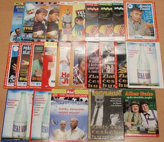 Kolekce zábavy - 19 DVD + 8 CD
