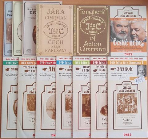 Velká kolekce Jára Cimrman - 8 DVD +5 CD