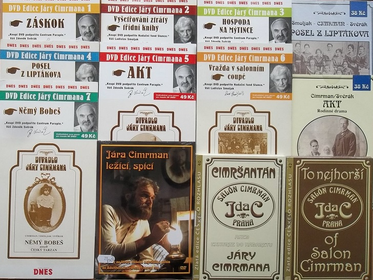 Velká kolekce Jára Cimrman - 9DVD + 5CD