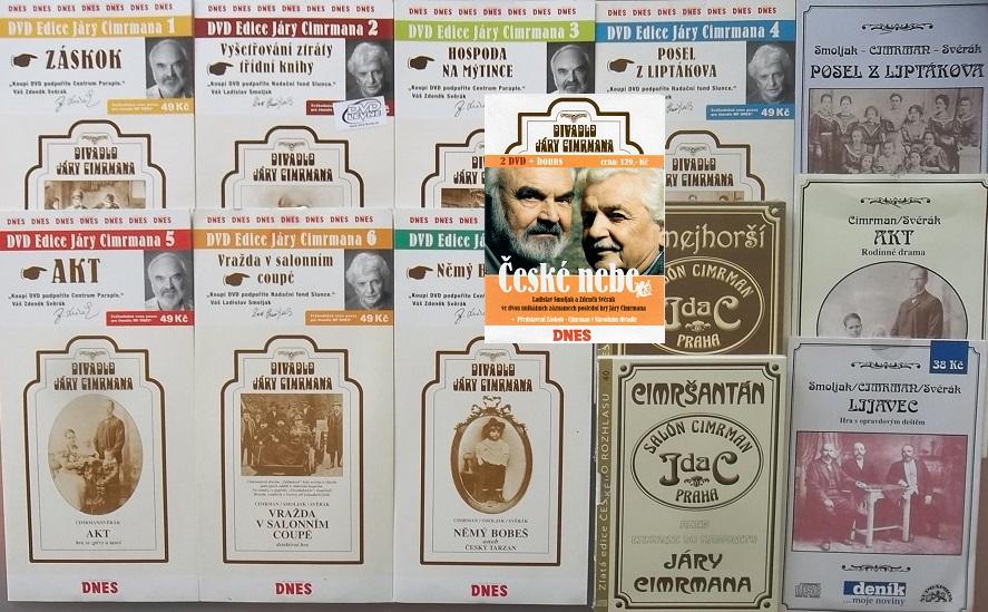 Velká kolekce Jára Cimerman - 9DVD + 5CD