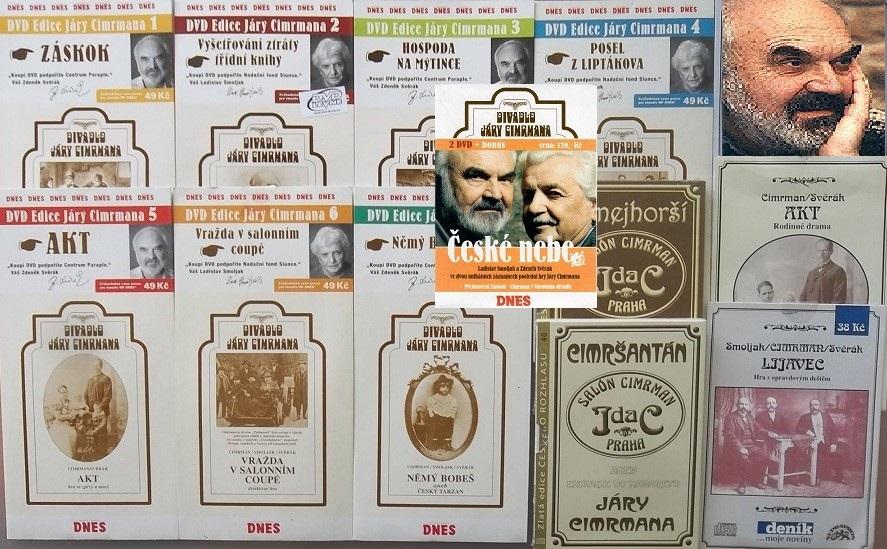 Velká kolekce Jára Cimerman - 9DVD + 4CD
