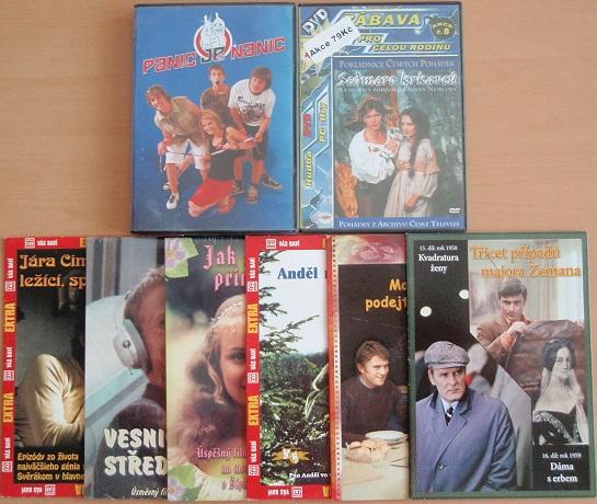 Kolekce Milena Dvorská - 8 DVD