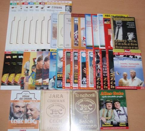Velká kolekce zábavy - 28 DVD + 13 CD