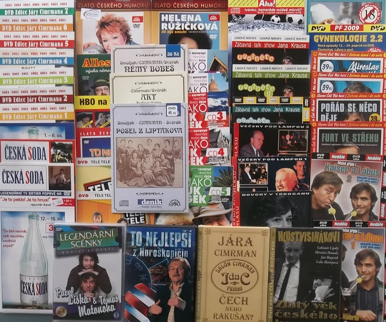 Velká kolekce zábavy - 26DVD + 18CD