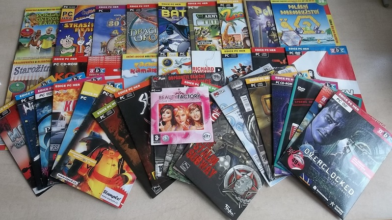 Velká kolekce Pc her - 40 CD