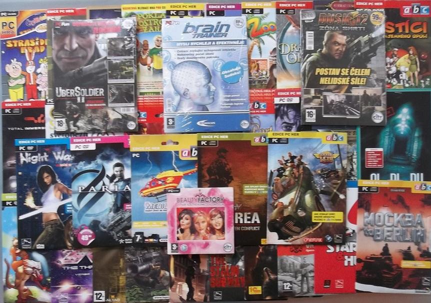 Velká kolekce Pc her - 52x PC hra