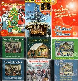 Kolekce Vánočních písní - 8 CD + 1 DVD