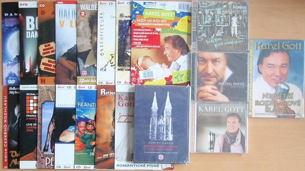 Kolekce českých zpěváků - 20 CD