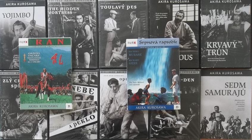 Velká kolekce Akira Kurosawa - 12 DVD
