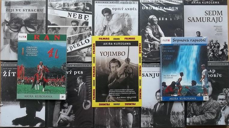 Velká kolekce Akira Kurosawa - 13 DVD
