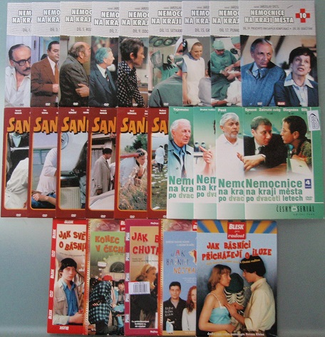 Česká doktorská kolekce - 24 DVD