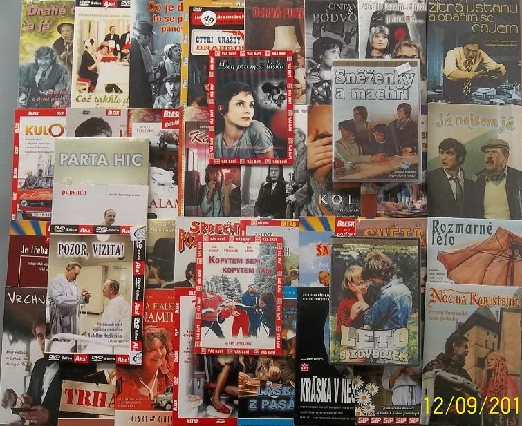Velký mix český film - 39 DVD