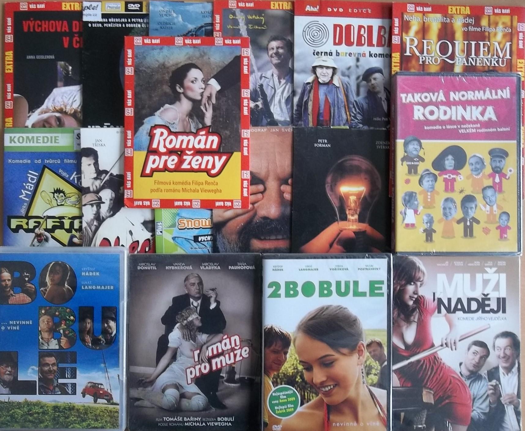 Velká kolekce český film - 17 DVD
