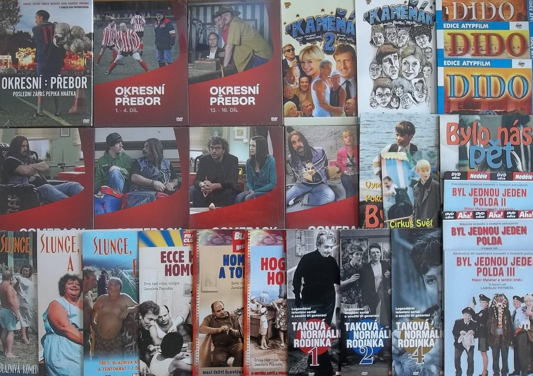 Kolekce český seriál 2. - 27 DVD