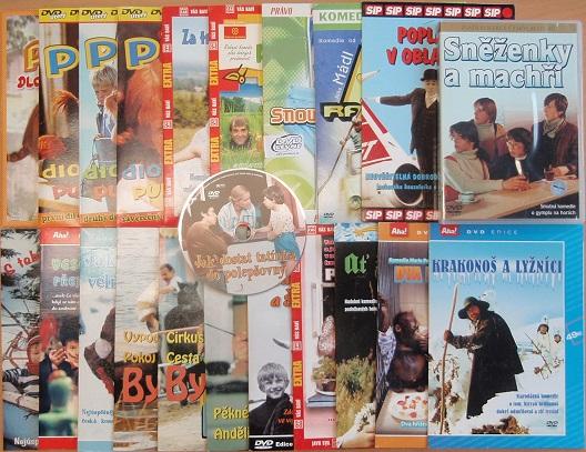 Velká kolekce dětský film - DVD