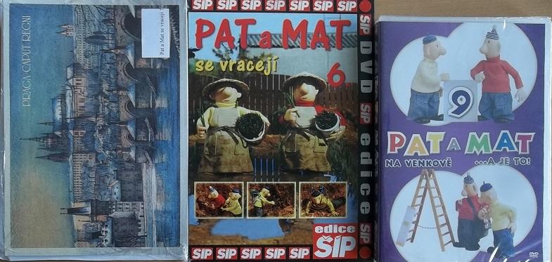 Kolekce Pat a Mat - 5 DVD