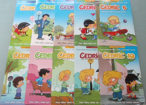 Kolekce Cedric - 10 DVD