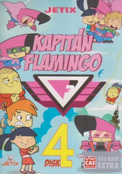 Kapitán Flamingo 4. - DVD
