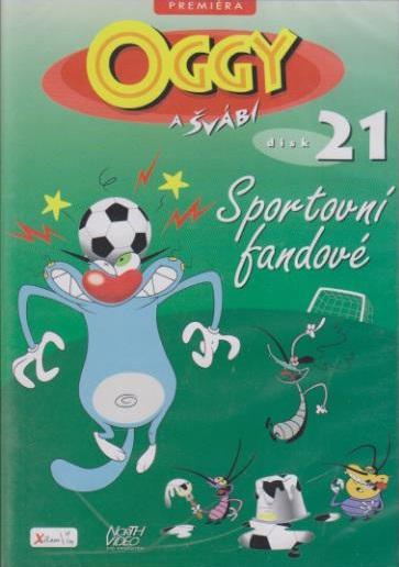 Oggy a švábi 21 - Sportovní fandové - DVD