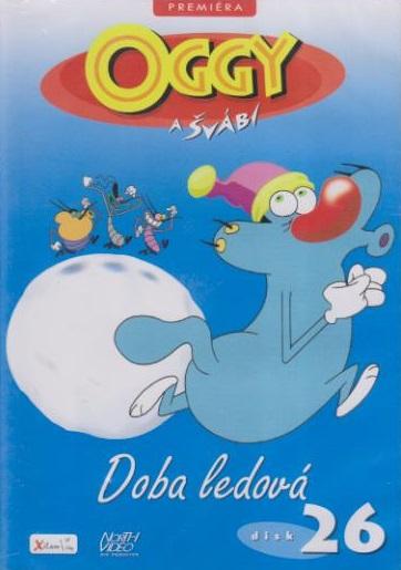 Oggy a švábi 26 - Doba ledová - DVD