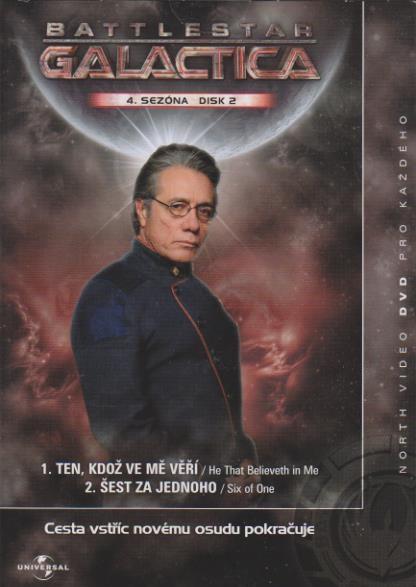 Battlestar Galactica - disk 2 - 4. sezóna, epizody 1-2 - DVD