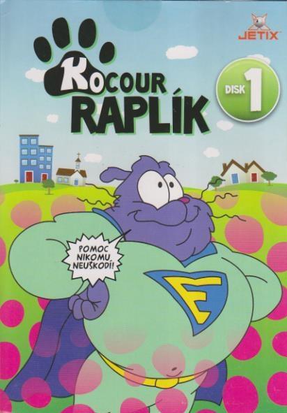 Kocour Raplík 01 - DVD