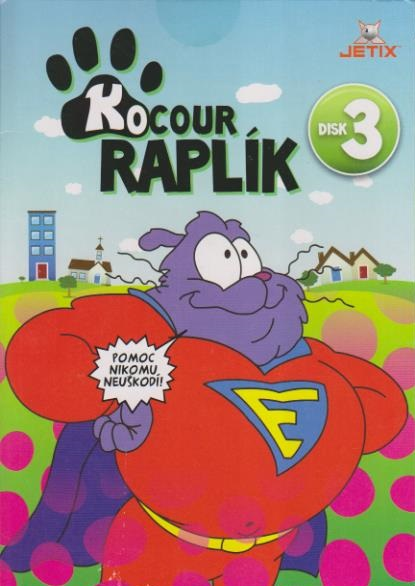 Kocour Raplík 03 - DVD
