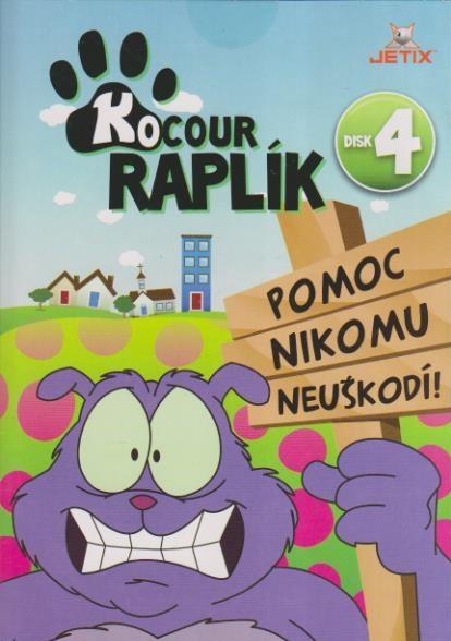 Kocour Raplík 04 - DVD
