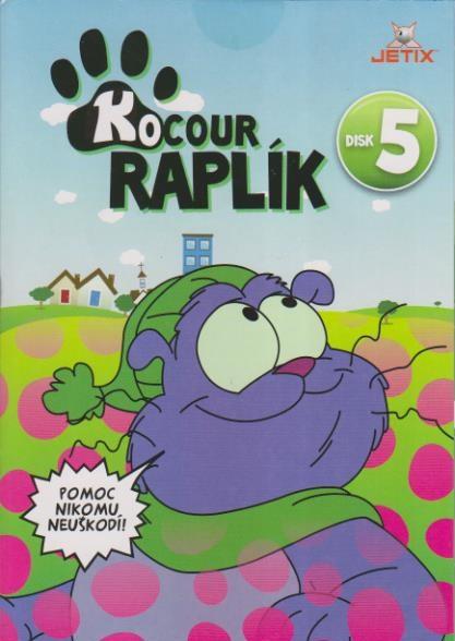 Kocour Raplík 05 - DVD