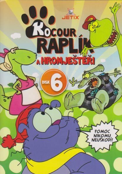 Kocour Raplík 06 - DVD