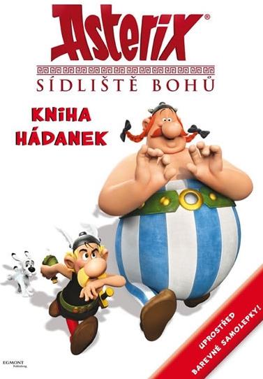 Asterix Sídliště bohů Kniha hádanek se samolepkami Goscinny R., Uderzo A.