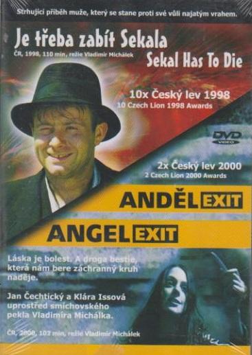 2 DVD Je třeba zabít Sekala / Anděl exit